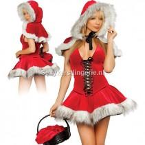 Kerstjurkje Roodkapje