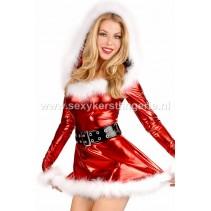 Glitter kerstpakje UITVERKOCHT